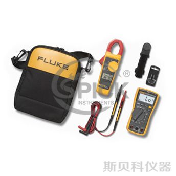 117/323 Electricians Multimeter Combo Kit